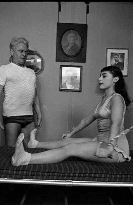 Joseph Pilates & Roberta Peters