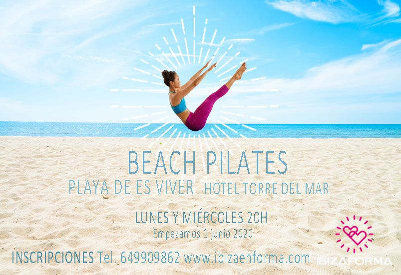 Pilates en la playa - Ibiza